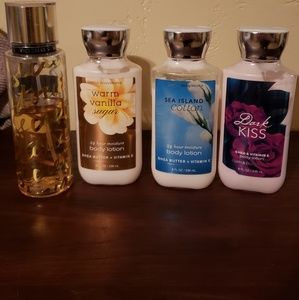 Used 3 lotions and 1 fragrance selling together